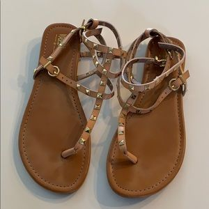 Mossimo Ankle Wrap Sandals